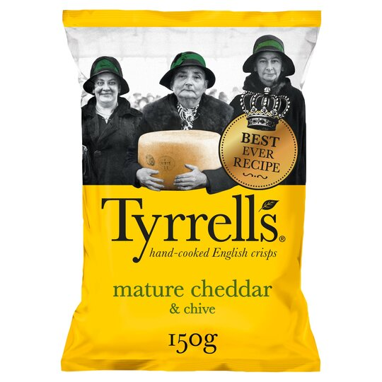 Tyrrells Crisps Lightlyseasalted Crisps 150G