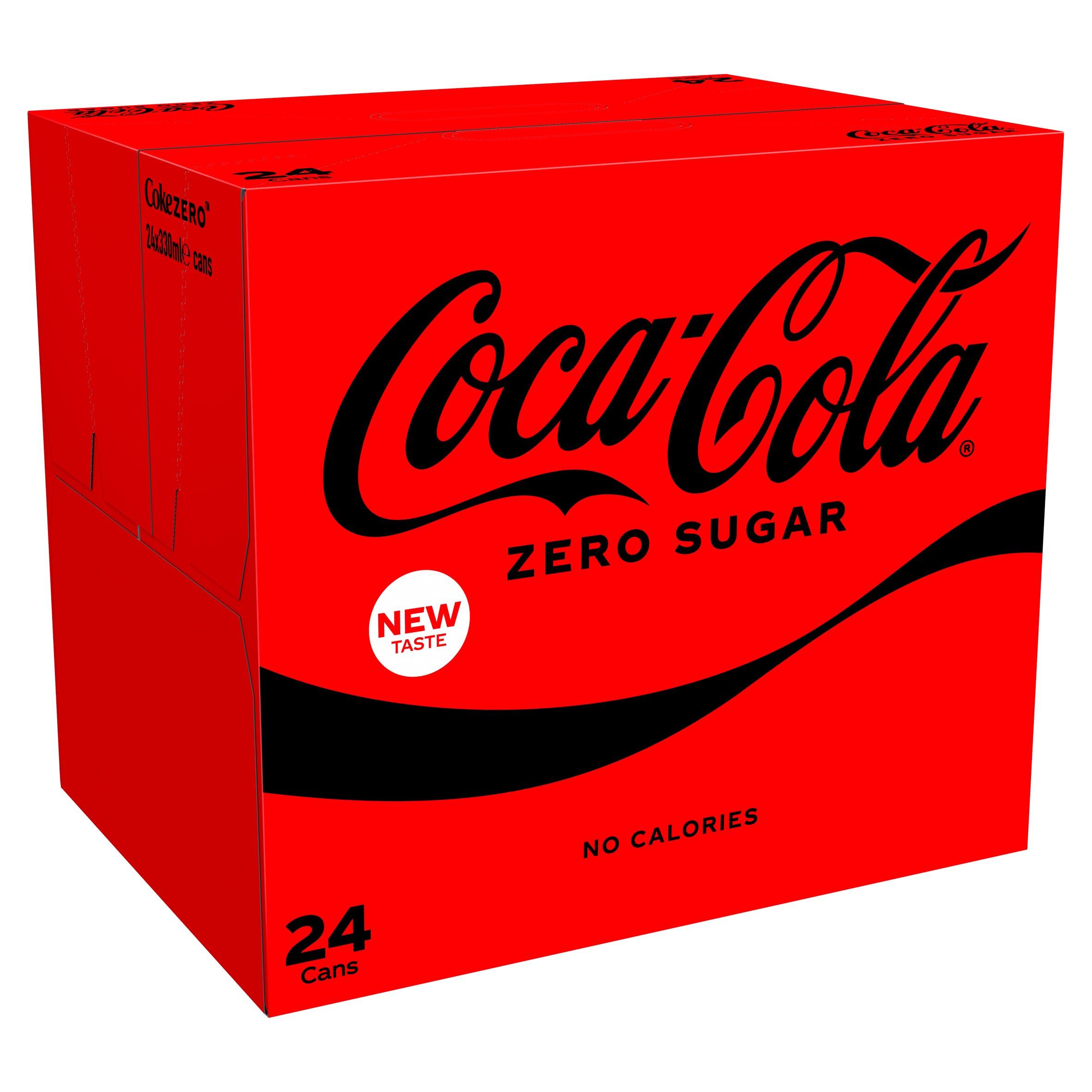 Coca Cola Coke Zero 24X330ml