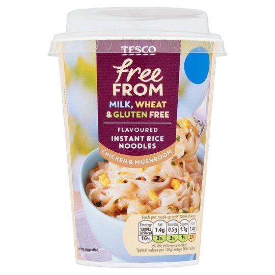 Tesco Free From Chicken Mushroom Noodles 75g