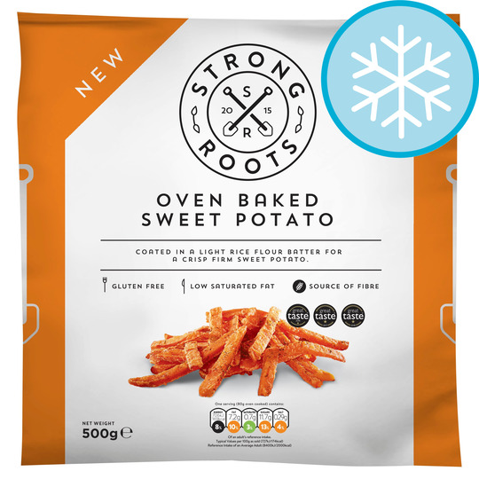 image 1 of Strong Roots Oven Baked Sweet Potato Chips 500G