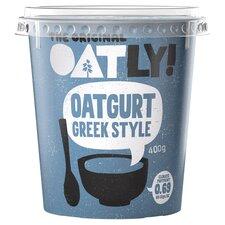 image 3 of Oatly Greek Style Oatgurt 400G