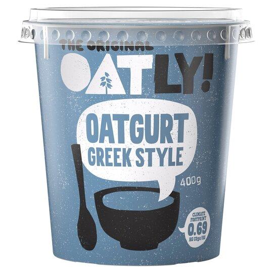 image 1 of Oatly Greek Style Oatgurt 400G