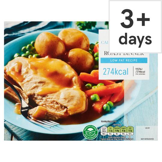 Tesco Chicken Low Calorie Roast Dinner 400g Tesco Groceries