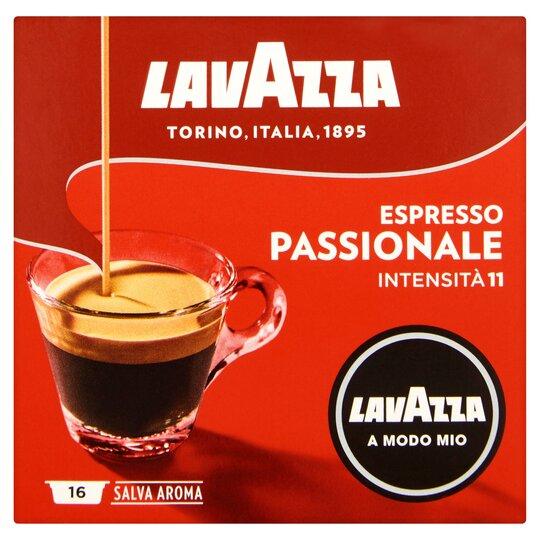 Lavazza A Modo Mio Passionale Coffee 16 Capsules
