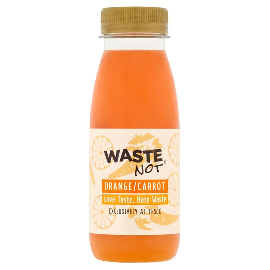 Waste Not Orange & Carrot Juice 250Ml
