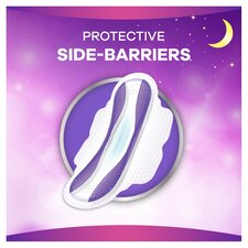 image 3 of Always Platinum Night Time Size 3 Sanitary Towels With Wings 8