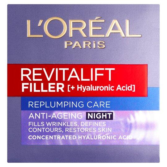 image 1 of L'oreal Revitalift Fill Night Cream 50Ml