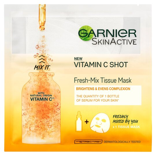 Garnier Vitamin C Fresh-Mix Tissue Face Mask 32G