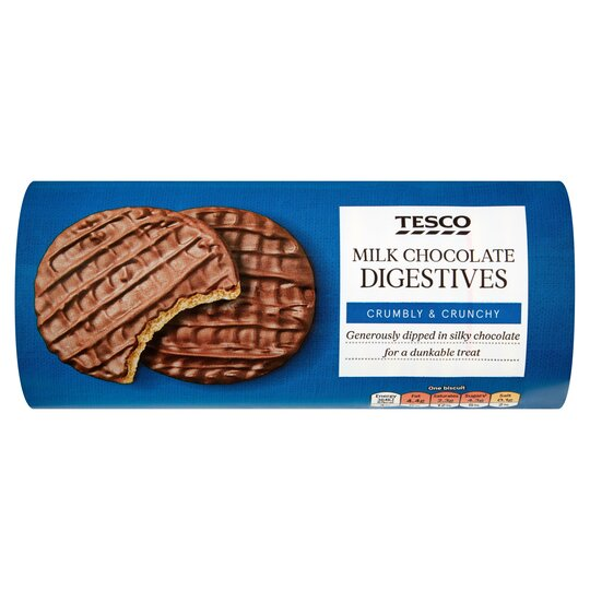 Tesco Milk Chocolate Digestive 300g