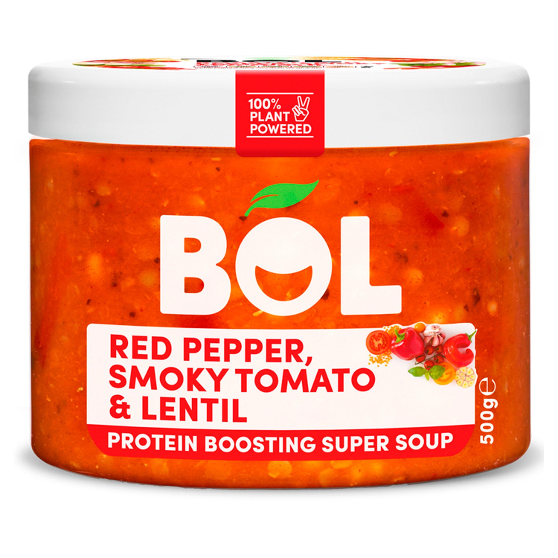 Bol Smokey Tomato Lentil Protein Boosting Super Soup 500G