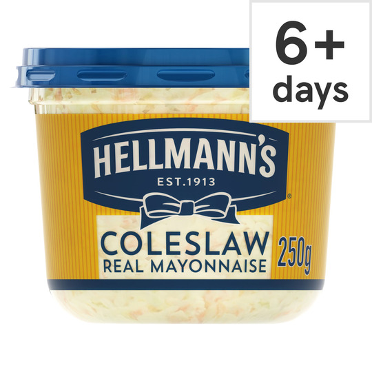 image 1 of Hellmann's Coleslaw With Real Mayonnaise 250G