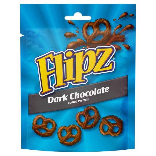 Flipz Dark Chocolate Coated Pretzels 100G