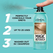 image 2 of L'oreal Magic Root Touch Up Dark Blonde 75Ml