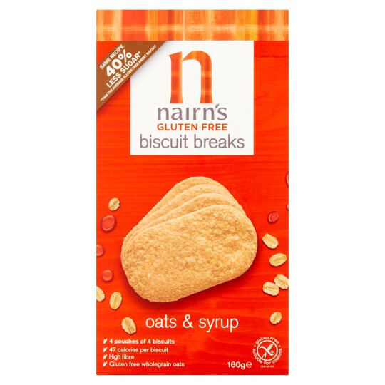 Nairns Oats And Syrup Biscuits