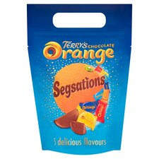 image 1 of Terrys Chocolate Orange Sensations Pouch 400G
