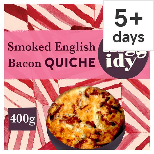 Higgidy Bacon & Cheddar Quiche 400G
