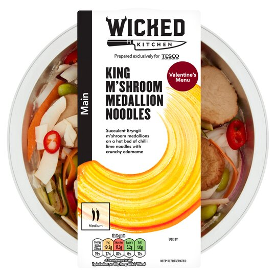 Wicked Kitchen King M'shroom Noodles 360G
