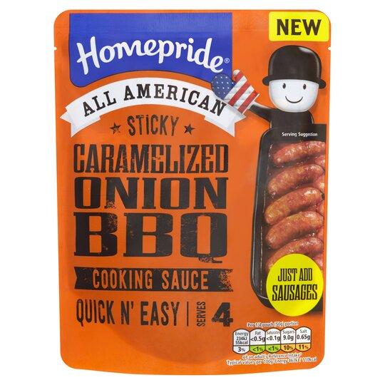 HOMEPRIDE STICKY CARAMLISD ONION BBQ SCE 200G