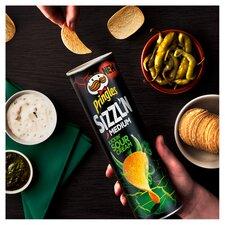 image 2 of Pringles Sizzl'n Kickin Sour Cream Crisps 180G