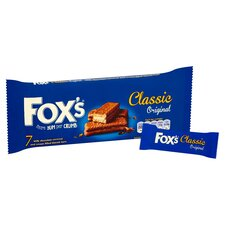 image 2 of Fox's Classic Biscuit Bars 7 Pack 179G