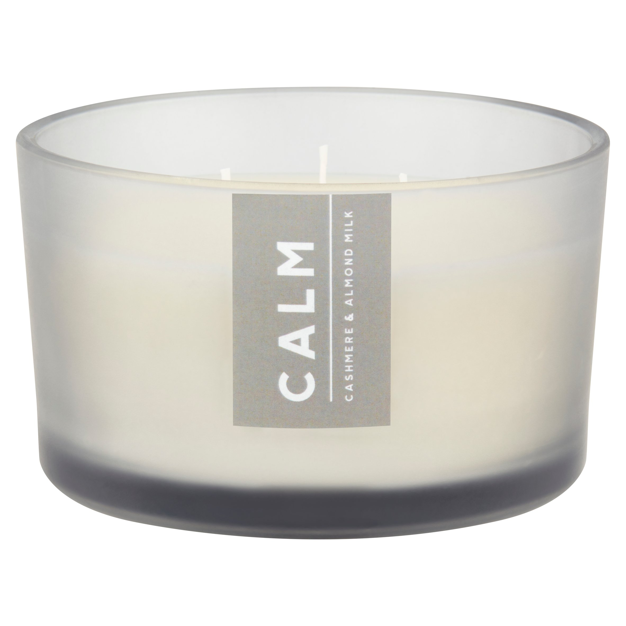 Tesco Spa Xl Scented Candle Cashmere & Almond Milk