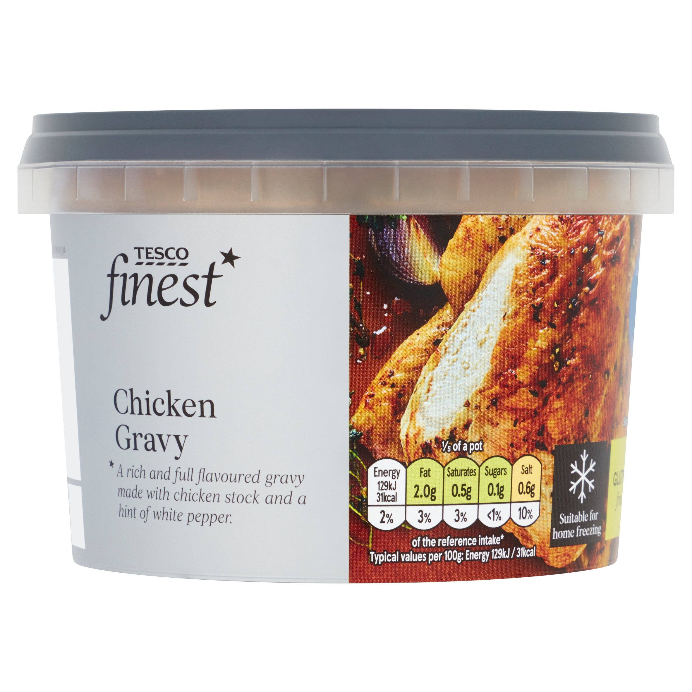 Tesco Finest Roast Chicken Gravy 500G
