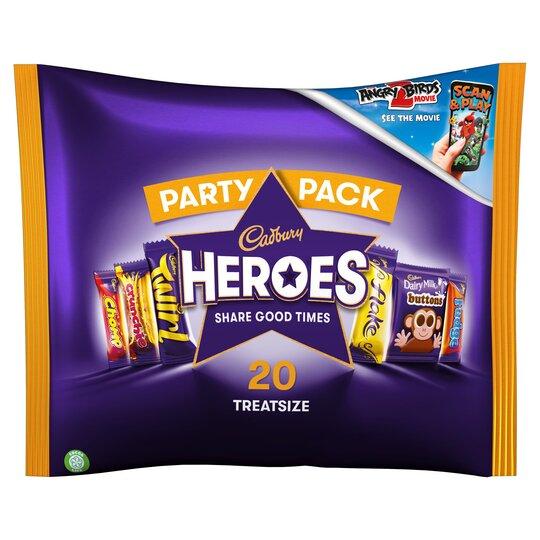 Cadbury Family Heroes Treat Size 278G