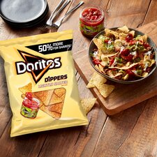 image 4 of Doritos Dippers Lightly Salted Tortilla Chips 270G