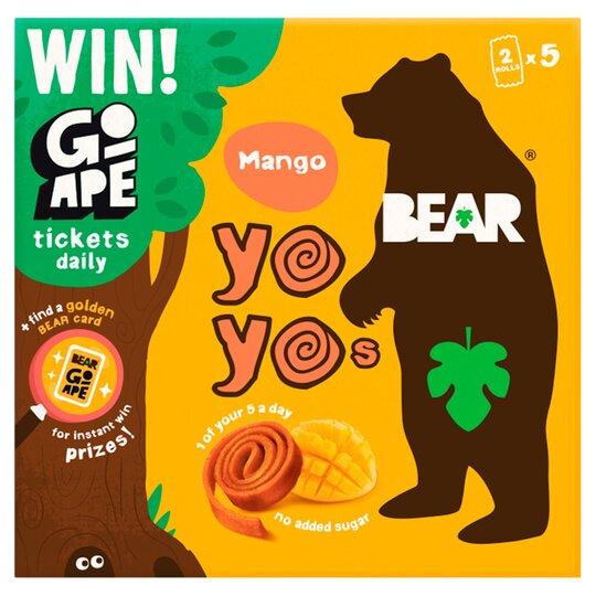 Bear Pure Fruit Yoyo Mango 5 X 20G