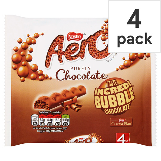 image 1 of Nestle Aero Milk 4 Pack 108G