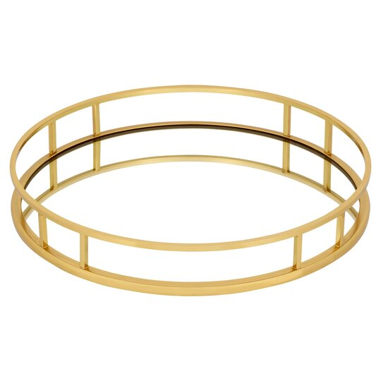 Fox Ivy Gold Tray Tesco Groceries