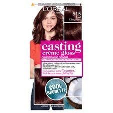 image 1 of L'oreal Casting Creme Gloss 515 Chocolate Truffle Brown Semi-Permanent Hair Dye