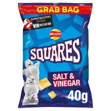 image 1 of Squares Salt & Vinegar 40G