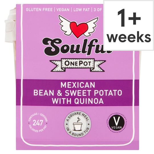 Soulful Mexican Bean Sweet Potato Quinoa 380G