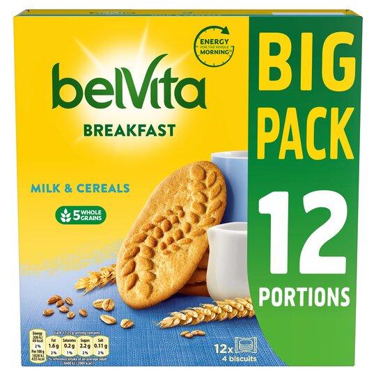 Belvita Milk & Cereal Biscuits 12 Pack