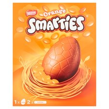 image 2 of Nestle Smarties Large Orange Egg 256G
