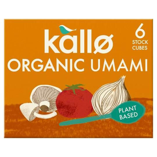 Kallo Organic Umami 6 Stock Cubes 66G
