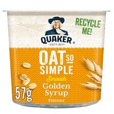 image 1 of Quaker Oat So Simple Golden Syrup Porridge 57G