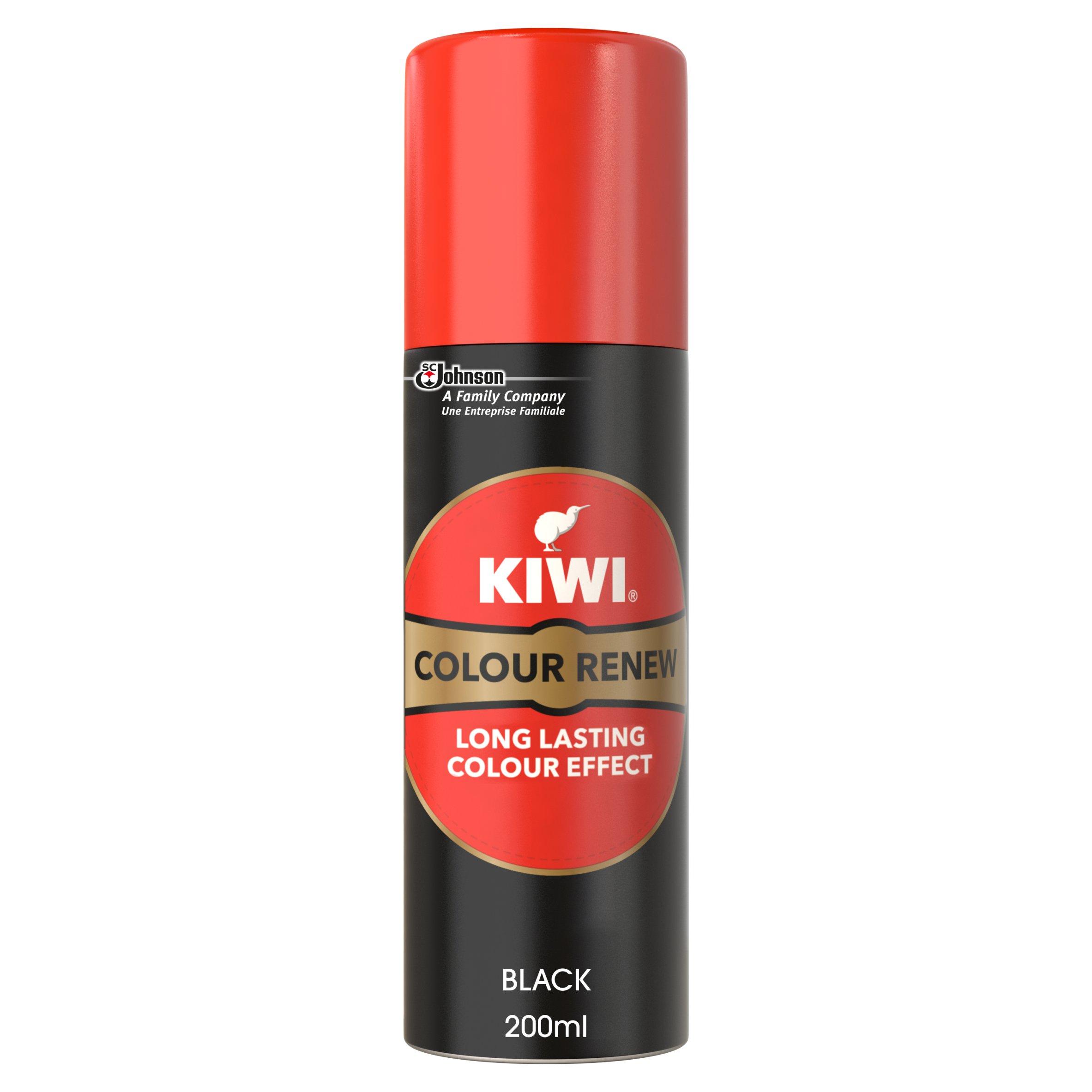 Kiwi Suede \u0026 Nubuck Renovator Black