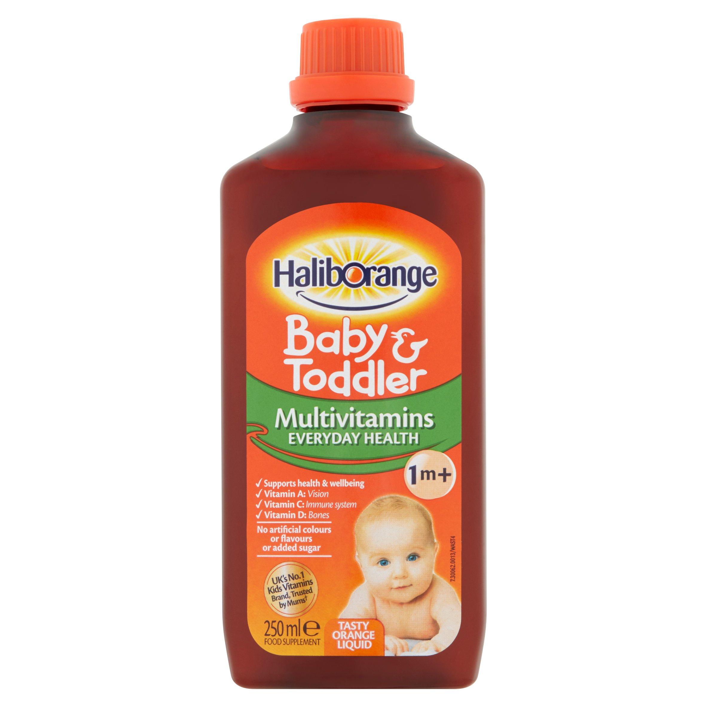 Haliborange Multi Vitamins Orange Liquid 250Ml