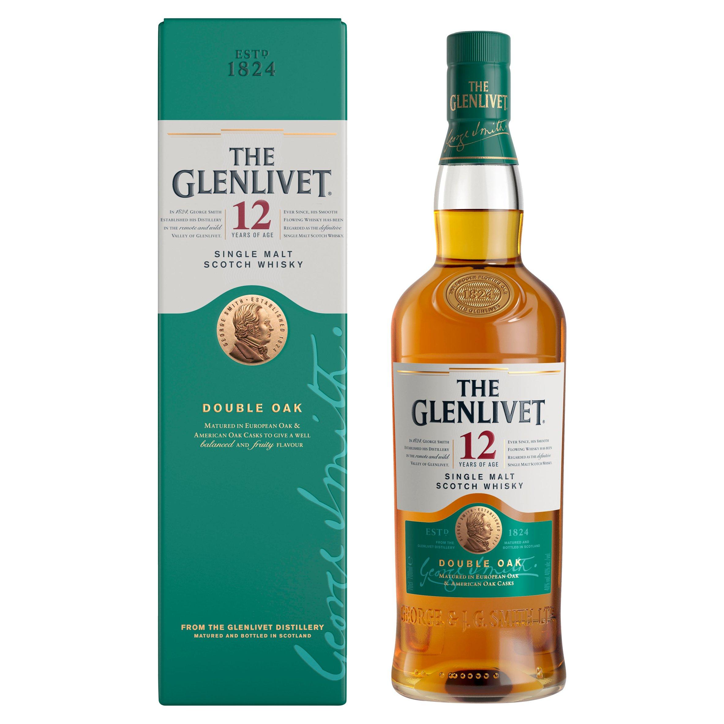 The Glenlivet 12Yr Old Malt Whisky 70Cl