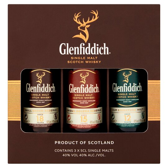 Glenfiddich Mix Pack 3X5cl
