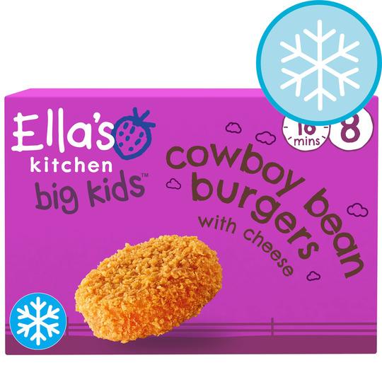 Ella's Kitchen Bean Burgers 8Pk 200G
