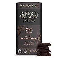 image 2 of Green & Blacks Organic Dark 70% Chocolate 90G
