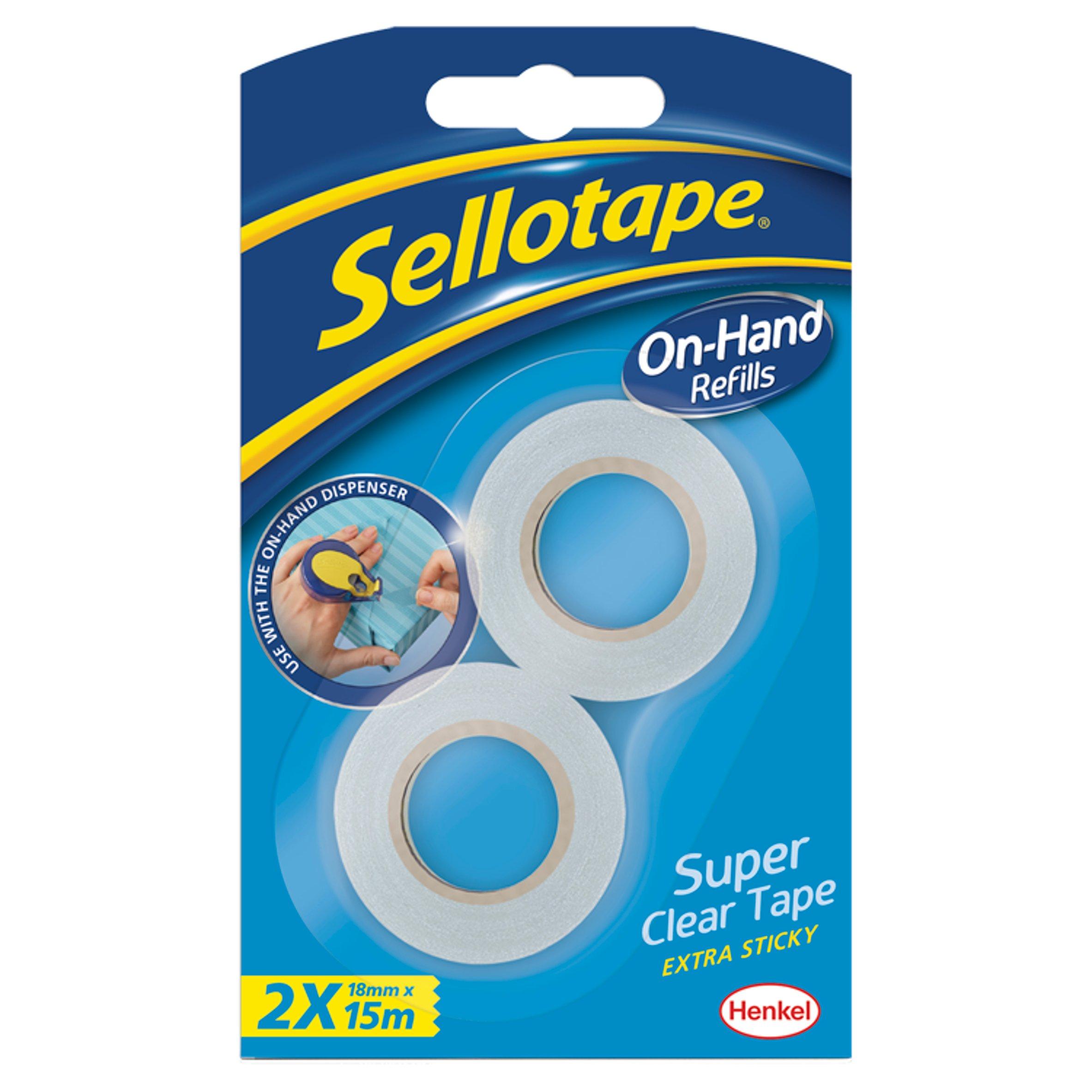 Sellotape On Hand Dispenser Refill Pack