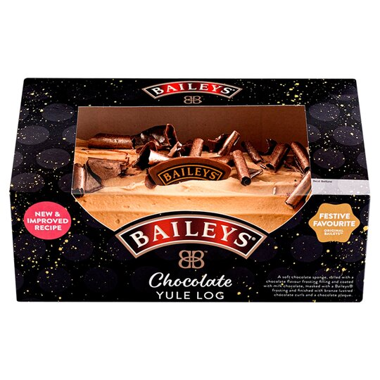 image 1 of Baileys Chocolate Yule Log