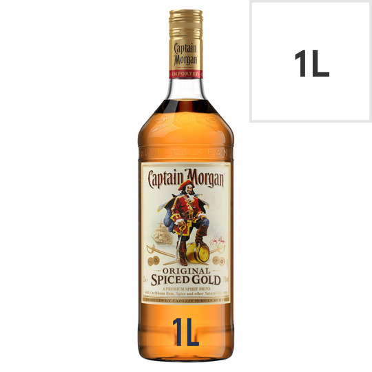 Captain Morgan Original Spiced Gold 1 Litre
