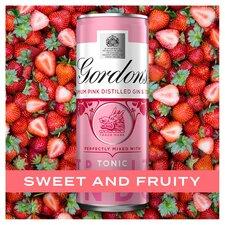 image 3 of Gordon's Pink Gin & Tonic Premix 250Ml