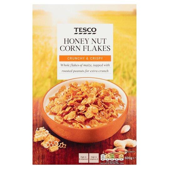 Tesco Honey Nut Cereal 500G
