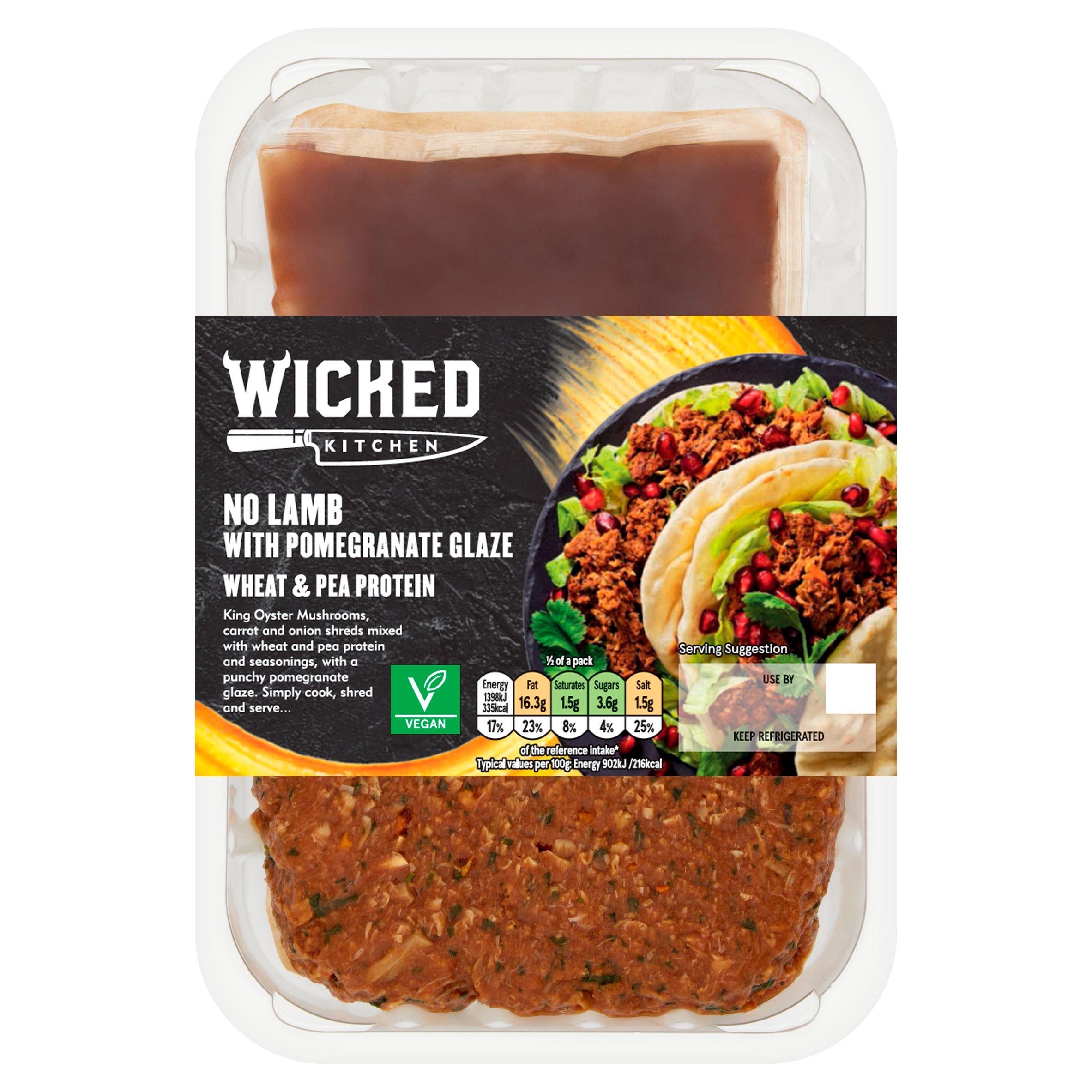 Wkd/Ktch No-Lamb With Pomegranate Glaze 350G